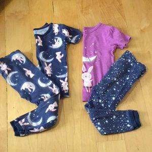Pajamas sets bundle girl's 3T 🌙